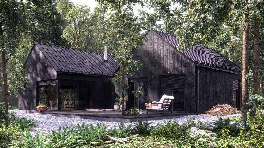 Tagalo - dom w lesie